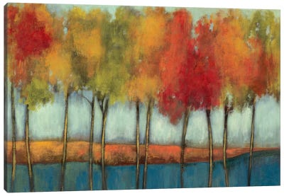 Lollipop Trees Canvas Art Print