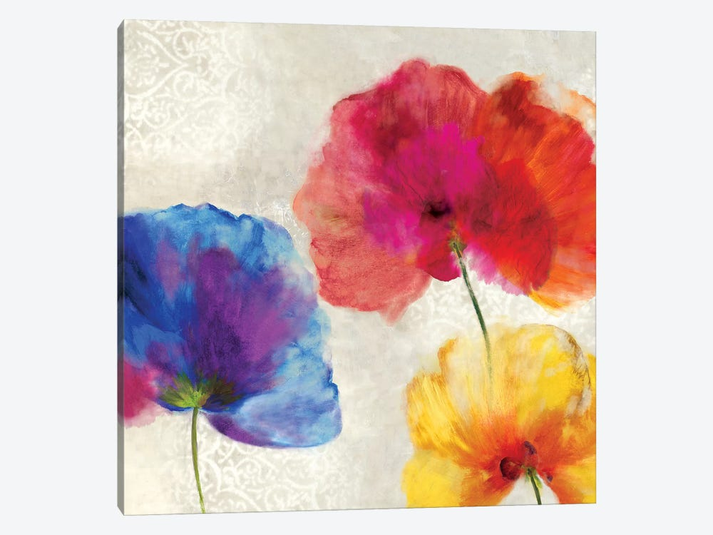 Lush Floral I by Asia Jensen 1-piece Canvas Print