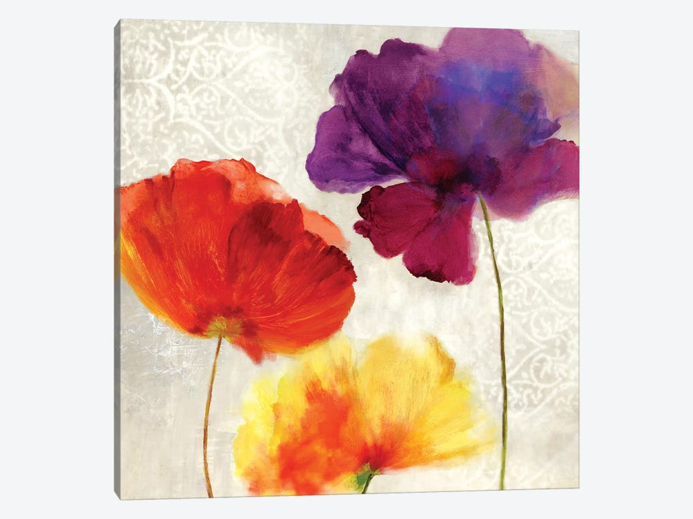 Lush Floral II by Asia Jensen 1-piece Canvas Artwork