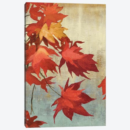 Maple Leaves I Canvas Print #ASJ184} by Asia Jensen Canvas Wall Art