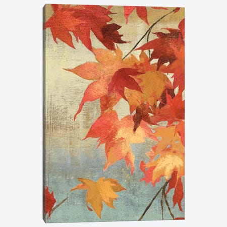 Maple Leaves II Canvas Print #ASJ185} by Asia Jensen Canvas Artwork
