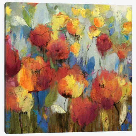Meadow Flowers Canvas Print #ASJ188} by Asia Jensen Canvas Print