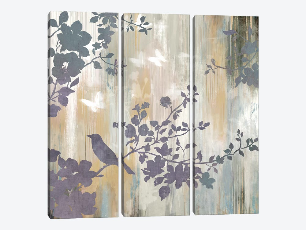Mist Foliage II by Asia Jensen 3-piece Canvas Print