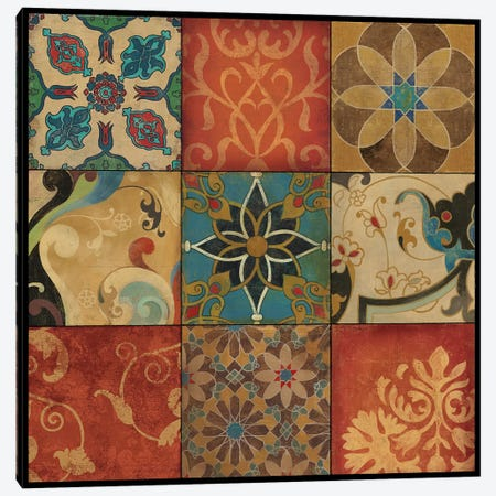 Mosaic Canvas Print #ASJ198} by Asia Jensen Canvas Artwork