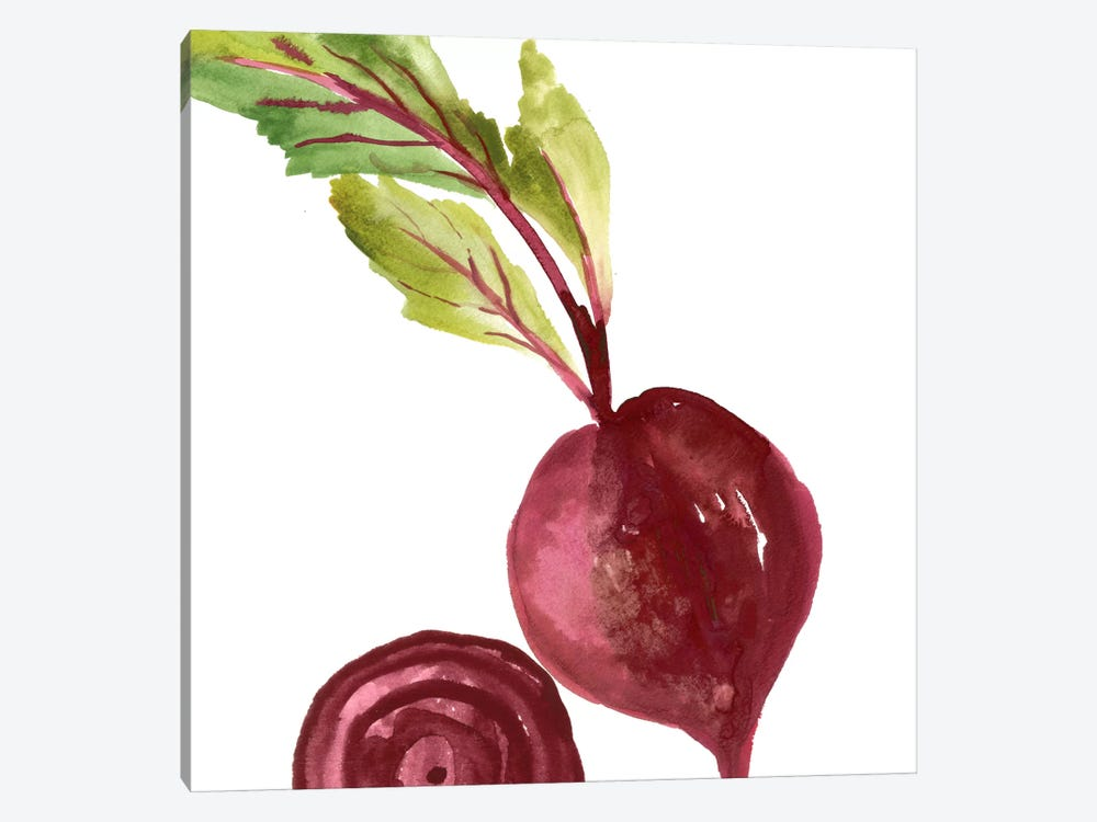 Beet by Asia Jensen 1-piece Canvas Artwork