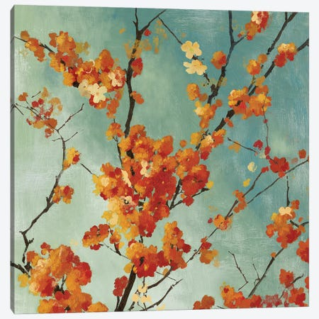 Orange Blossoms I Canvas Print #ASJ212} by Asia Jensen Art Print