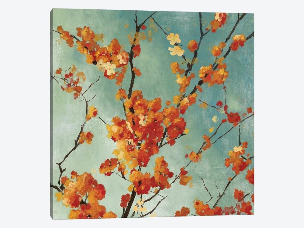 Orange Blossoms I by Asia Jensen 1-piece Canvas Art Print