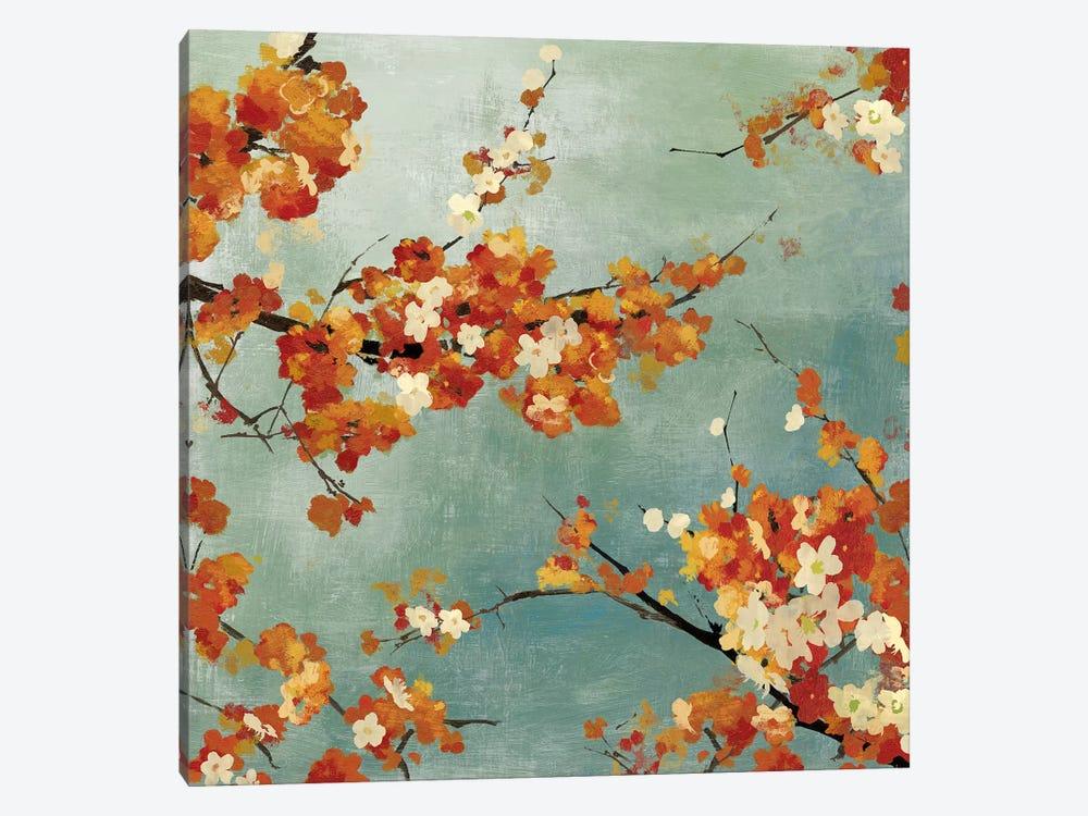 Orange Blossoms II by Asia Jensen 1-piece Canvas Wall Art