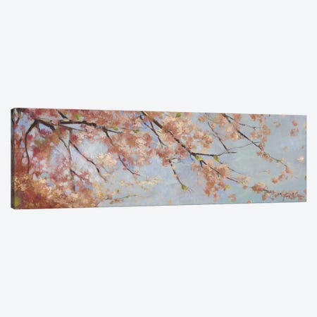 Osaka Blossoms II Canvas Print #ASJ218} by Asia Jensen Art Print