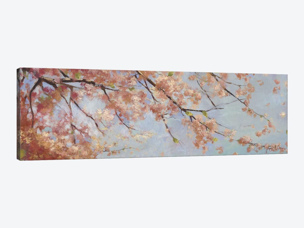 Osaka Blossoms II by Asia Jensen 1-piece Art Print