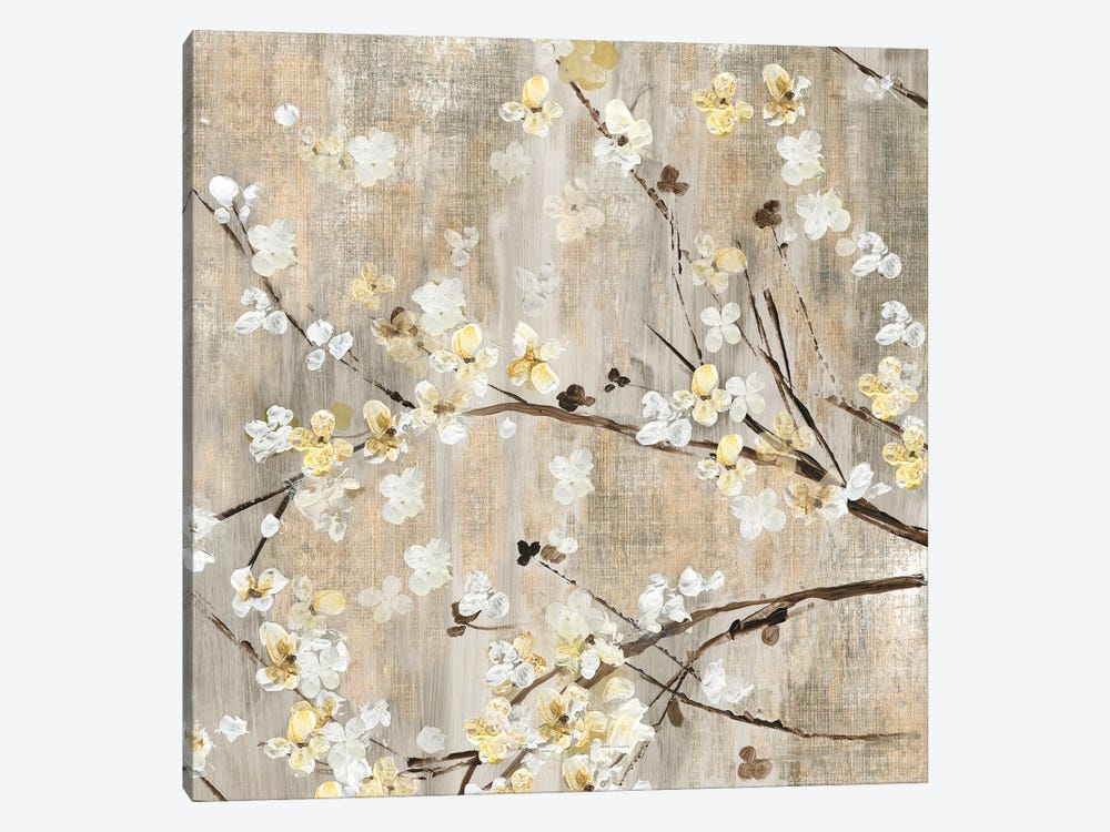 Pearls In Bloom I by Asia Jensen 1-piece Canvas Wall Art
