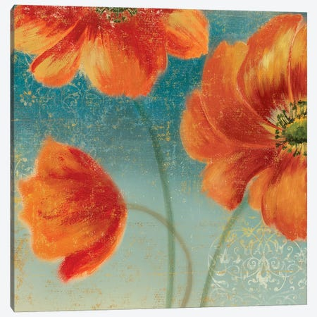 Putchy's Garden II Canvas Print #ASJ241} by Asia Jensen Canvas Artwork