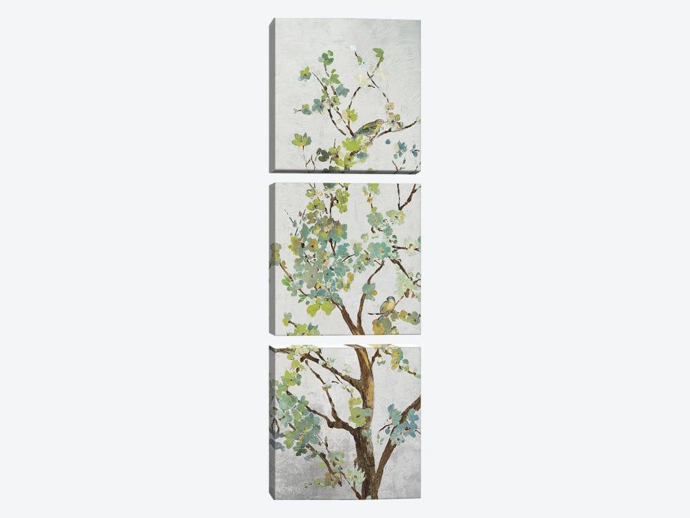 Sage Branch I by Asia Jensen 3-piece Canvas Art Print