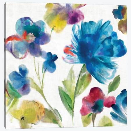 Sarcelle Jardin I Canvas Print #ASJ253} by Asia Jensen Canvas Art Print
