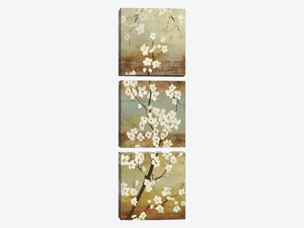 Blossom Canopy I by Asia Jensen 3-piece Canvas Art Print