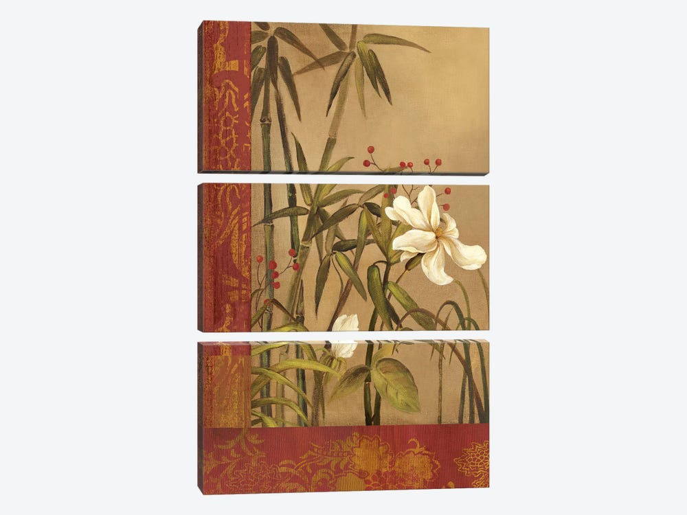 Spice Route I by Asia Jensen 3-piece Canvas Art Print