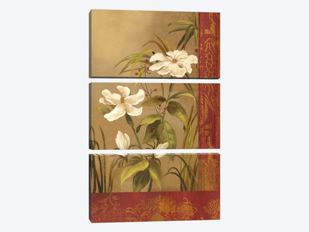 Spice Route II by Asia Jensen 3-piece Canvas Wall Art