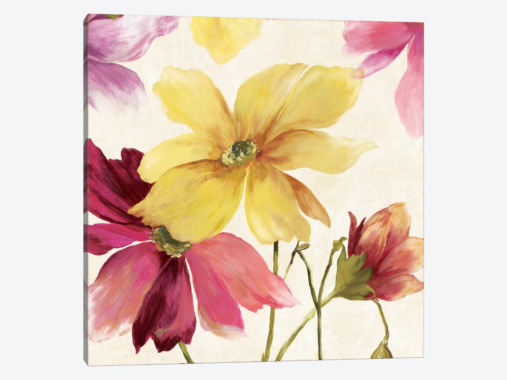 Summer Breeze I, Square by Asia Jensen 1-piece Canvas Print