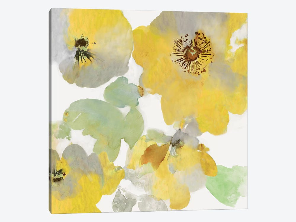 Sunny Floral I by Asia Jensen 1-piece Canvas Art