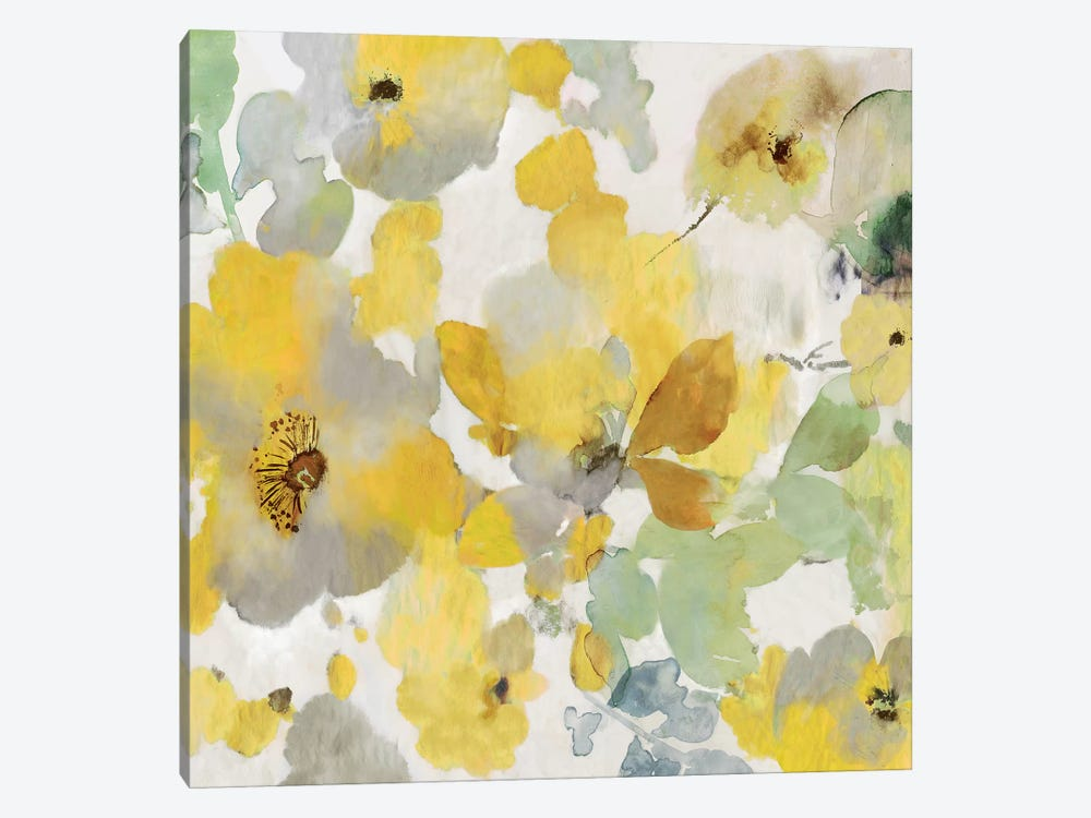 Sunny Floral II by Asia Jensen 1-piece Art Print
