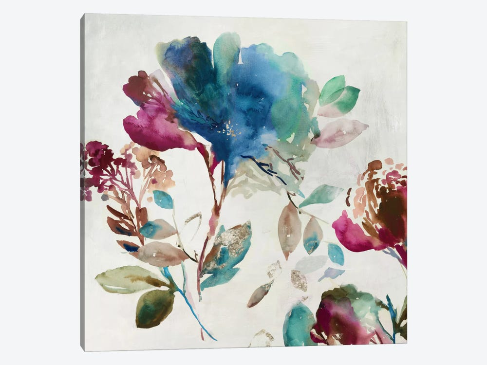Blossoming I by Asia Jensen 1-piece Canvas Print
