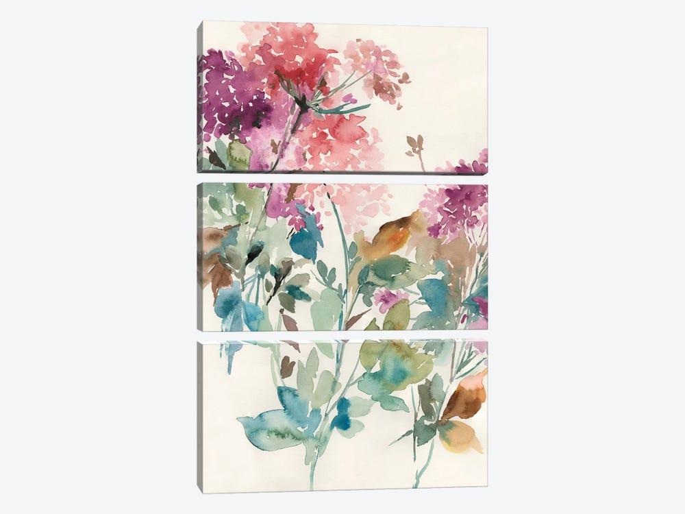 Sweet Hydrangea II by Asia Jensen 3-piece Canvas Art