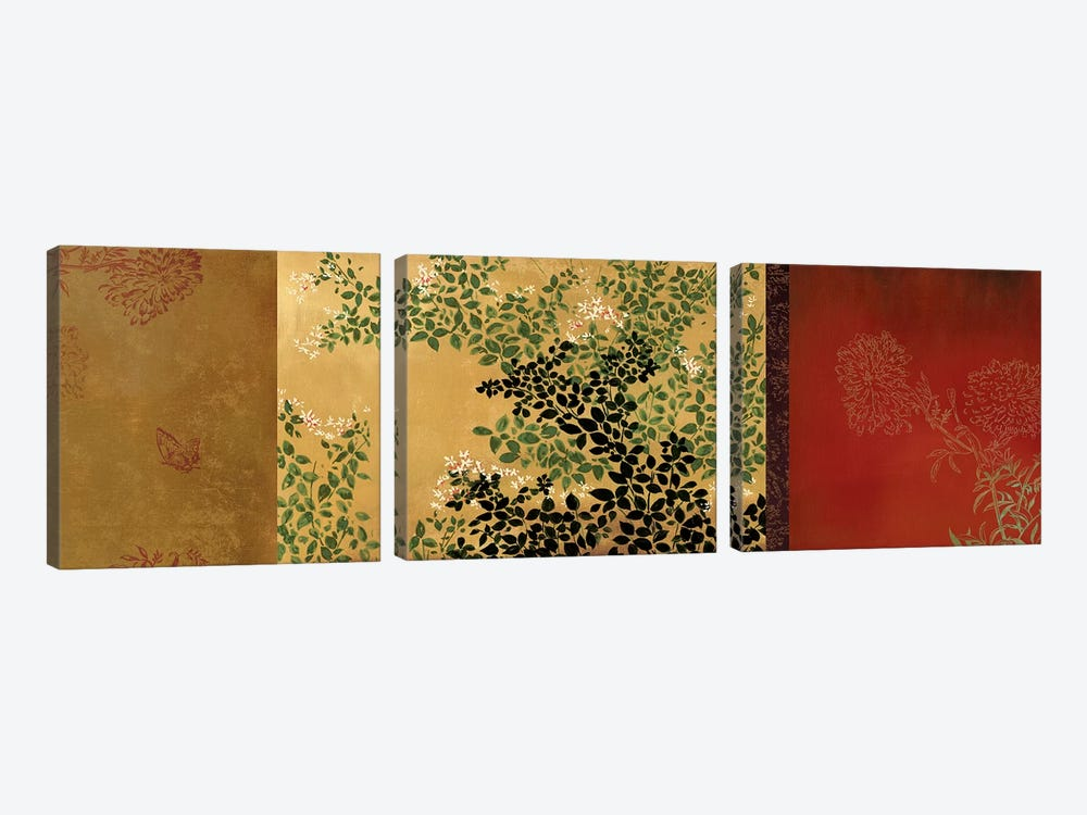 The Far East by Asia Jensen 3-piece Canvas Artwork