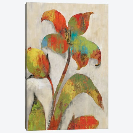 Tigerlilies I Canvas Print #ASJ295} by Asia Jensen Canvas Wall Art