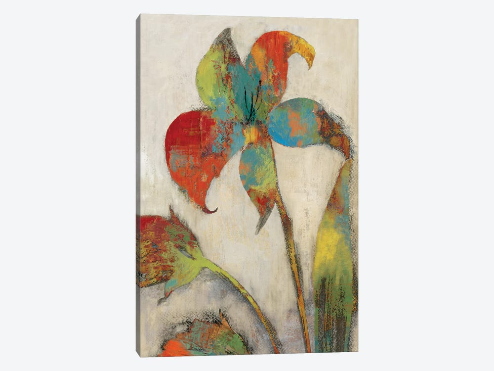 Tigerlilies II by Asia Jensen 1-piece Art Print