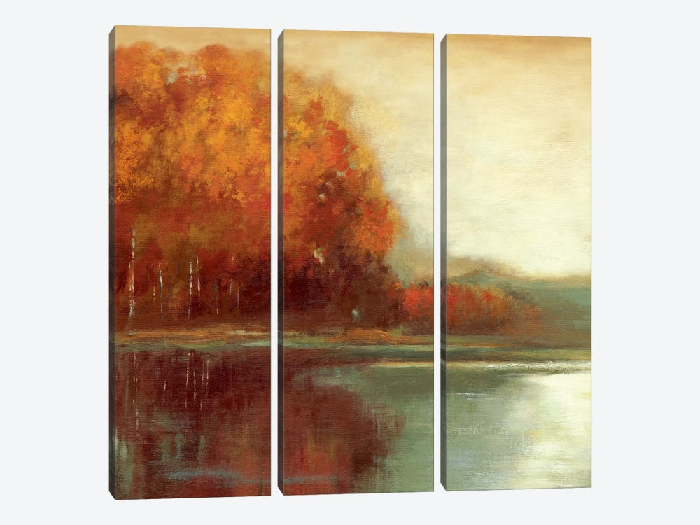 Touch Of Gold by Asia Jensen 3-piece Canvas Print