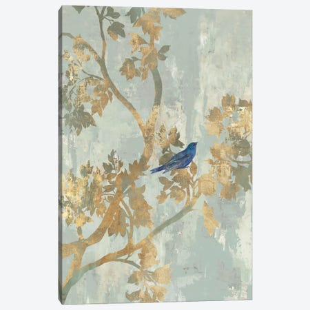 Blue Bird Canvas Print #ASJ29} by Asia Jensen Canvas Wall Art