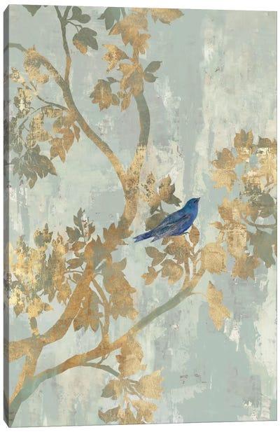 Blue Bird Canvas Art Print