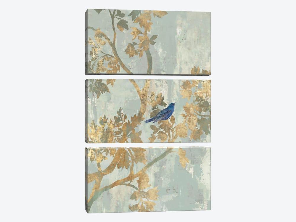 Blue Bird by Asia Jensen 3-piece Canvas Art Print