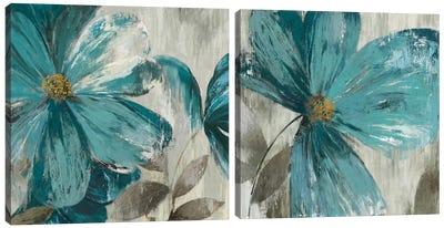 Gisel Diptych Canvas Art Print