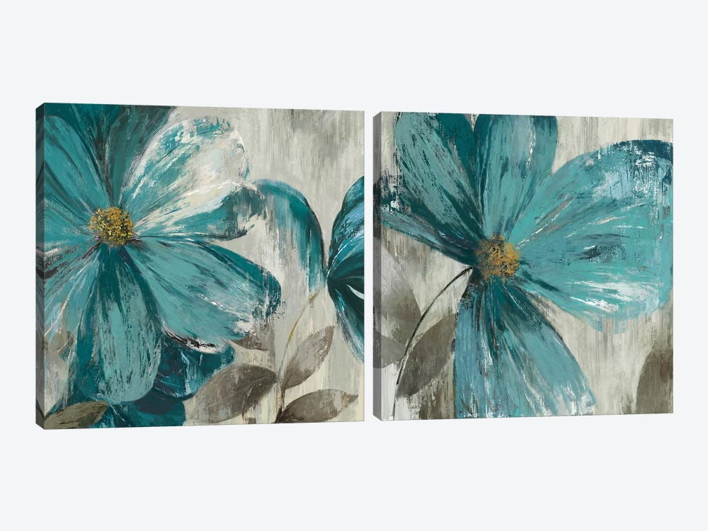 Gisel Diptych by Asia Jensen 2-piece Canvas Wall Art