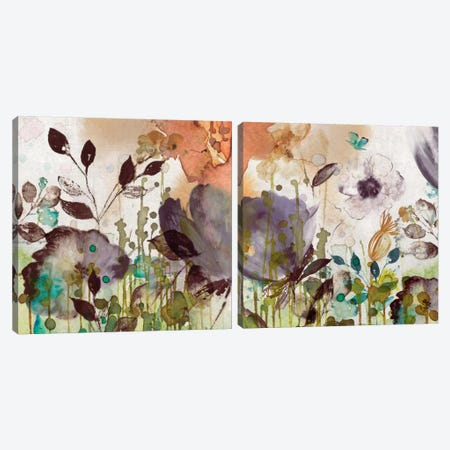 Autumn Song Diptych Canvas Print Set #ASJ2HSET006} by Asia Jensen Canvas Art Print