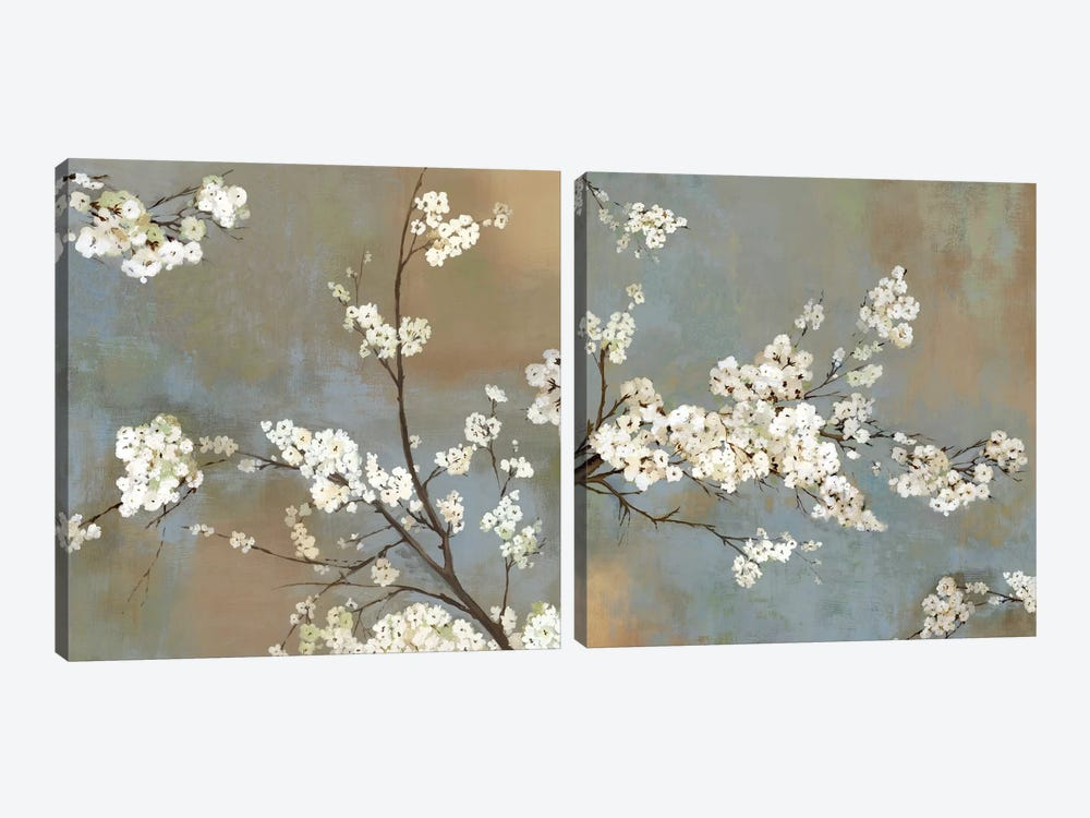 Ode To Spring Diptych by Asia Jensen 2-piece Canvas Artwork