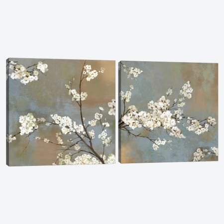 Ode To Spring Diptych Canvas Print Set #ASJ2HSET009} by Asia Jensen Canvas Art