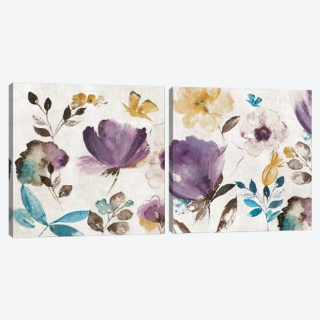 Quixotic Diptych Canvas Print Set #ASJ2HSET012} by Asia Jensen Canvas Art Print