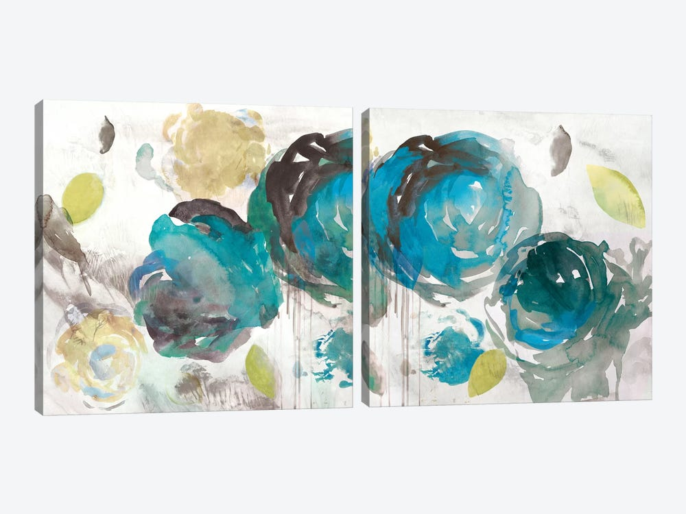 Seasons Diptych by Asia Jensen 2-piece Canvas Print
