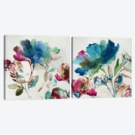 Blossoming Diptych Canvas Print Set #ASJ2HSET014} by Asia Jensen Canvas Wall Art