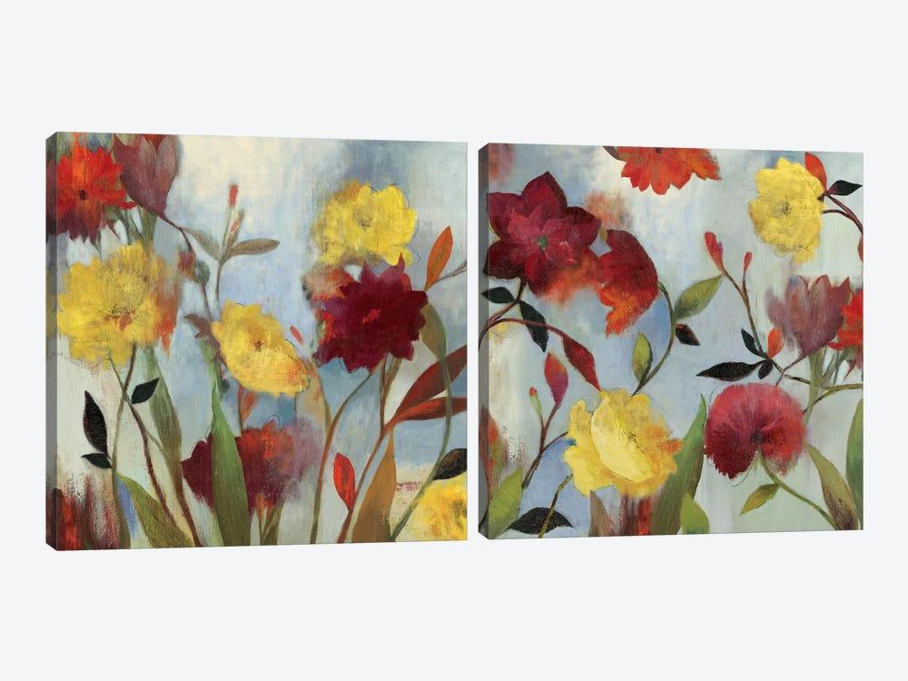 Wildflowers Diptych by Asia Jensen 2-piece Art Print