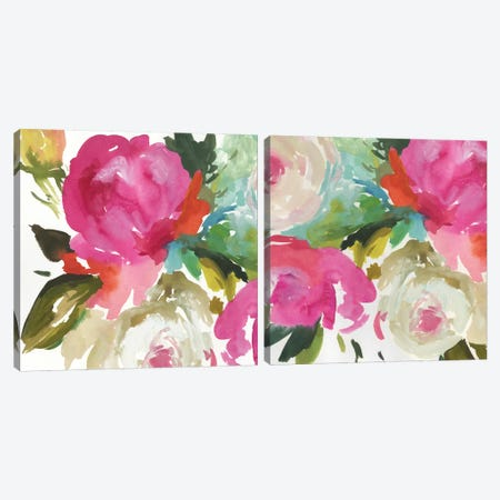 Belle Diptych Canvas Print Set #ASJ2HSET023} by Asia Jensen Canvas Artwork
