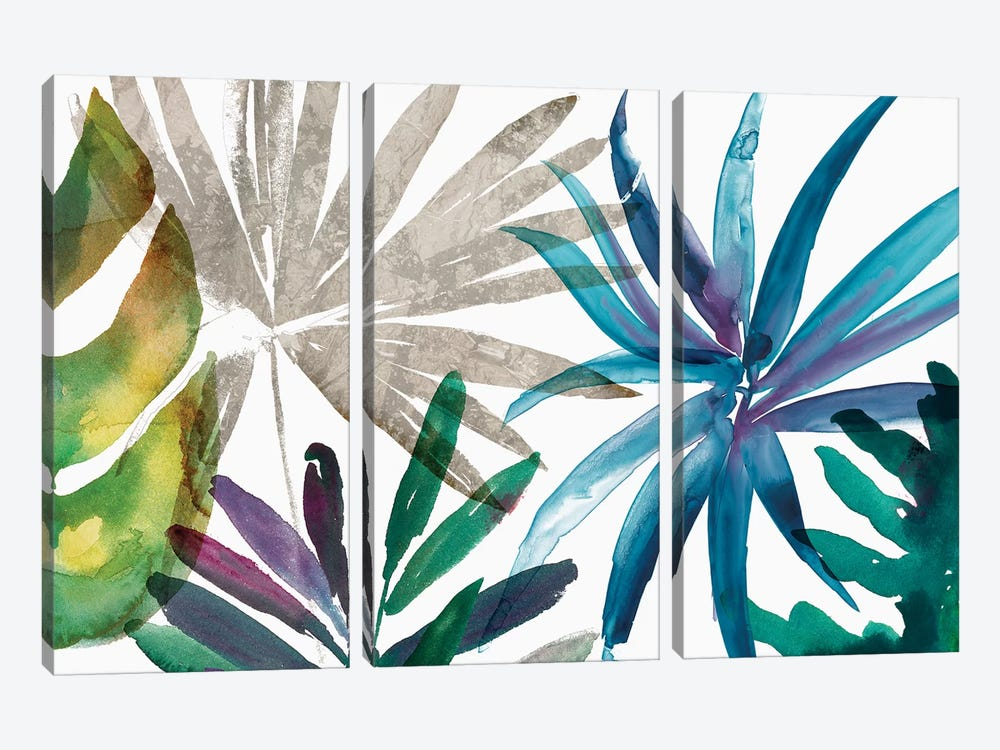 Tropic Sway II by Asia Jensen 3-piece Canvas Print