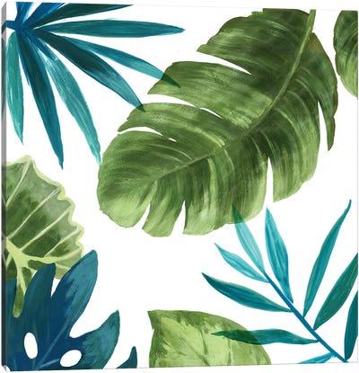 Tropical Leaves II Canvas Art Print
