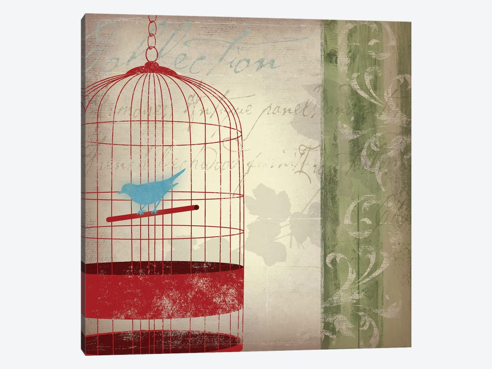 Twitter I by Asia Jensen 1-piece Canvas Wall Art