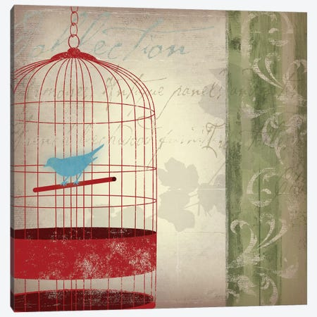 Twitter I Canvas Print #ASJ305} by Asia Jensen Canvas Wall Art