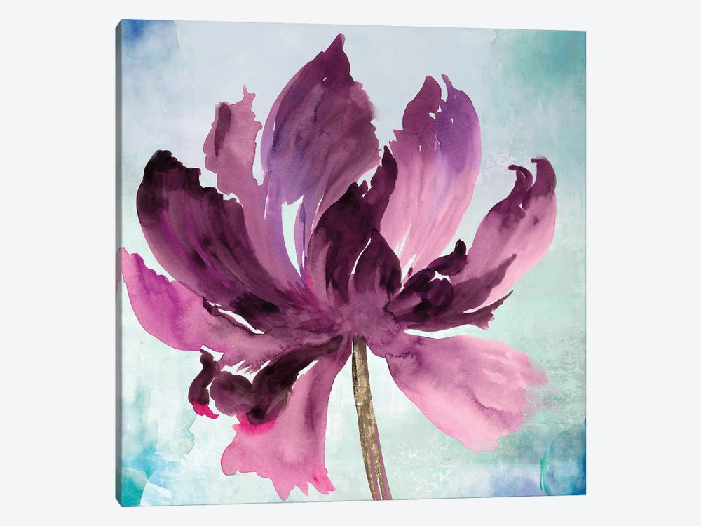 Tye Dye Floral I by Asia Jensen 1-piece Canvas Artwork
