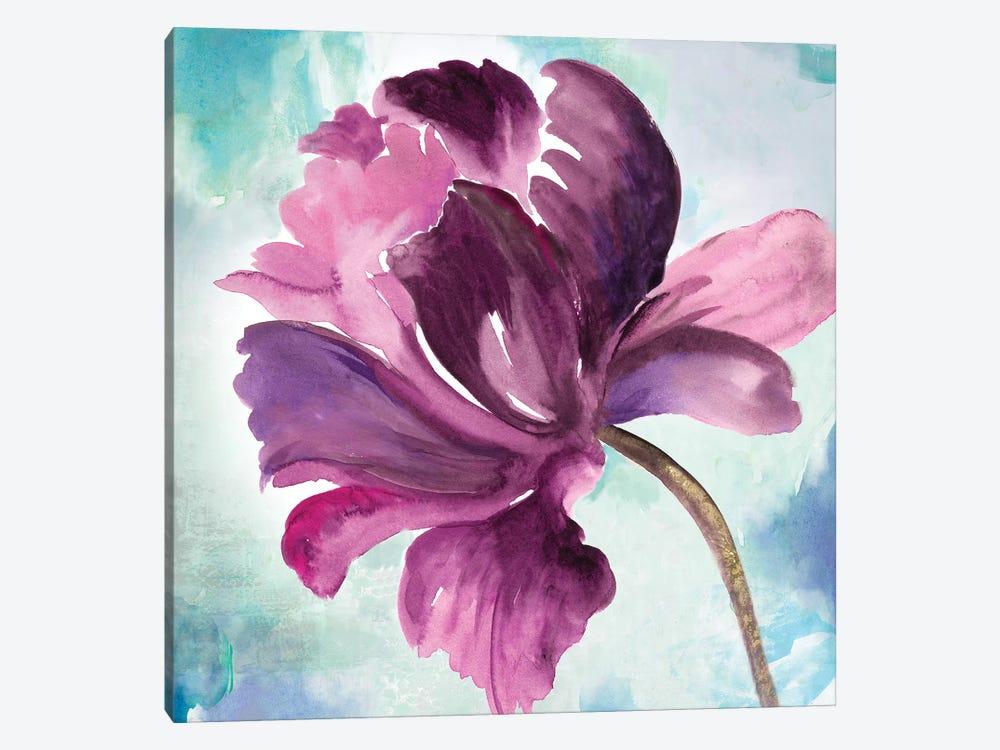 Tye Dye Floral II by Asia Jensen 1-piece Canvas Art Print
