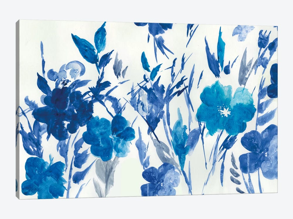Blue Meadow by Asia Jensen 1-piece Canvas Print